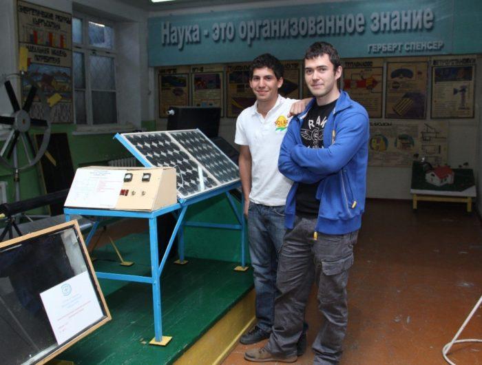 Deux jeunes Français contribuent au développement de l'énergie solaire au Kirghizistan