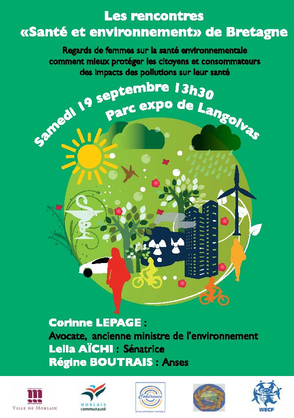 Conférence Regards de femmes sur la santé – 19 septembre 2015 – Rencontres Santé Environnement de Bretagne