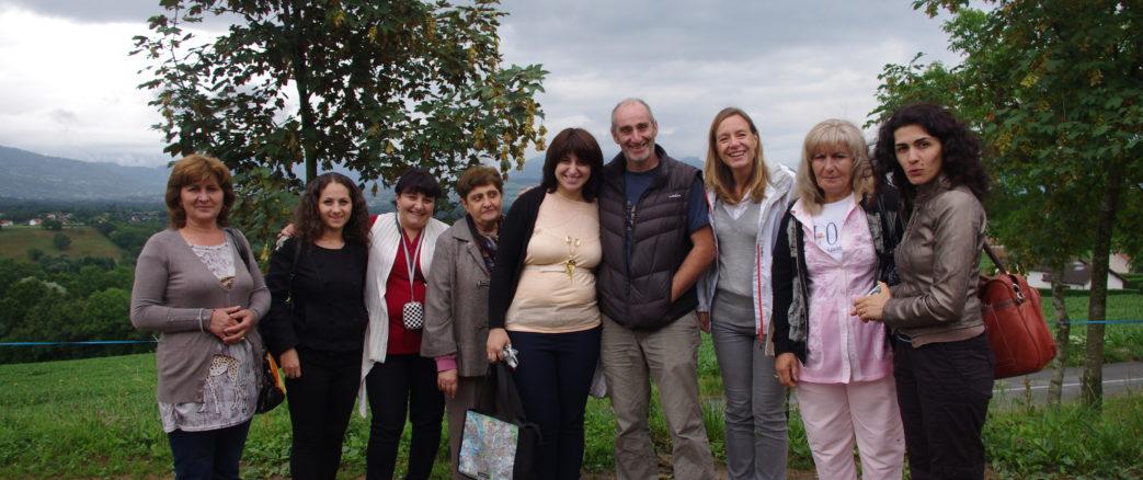 WECF France favorise le développement d'une agriculture durable au féminin dans les villages de Ditak, Solak, Saghmosavan, et Voskevan