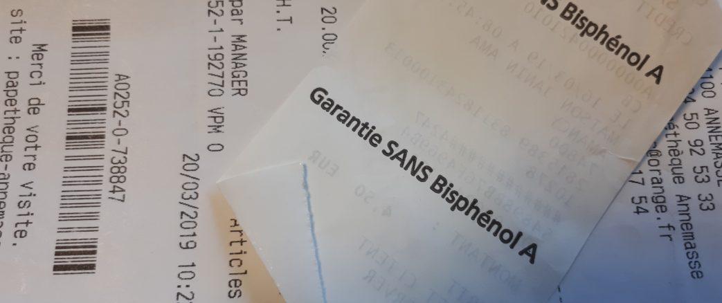 Suisse: les bisphénols A et S interdits dans les tickets thermiques