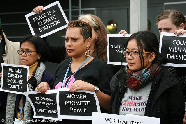 Les 11 demandes de la Women Gender Constituency pour la COP21