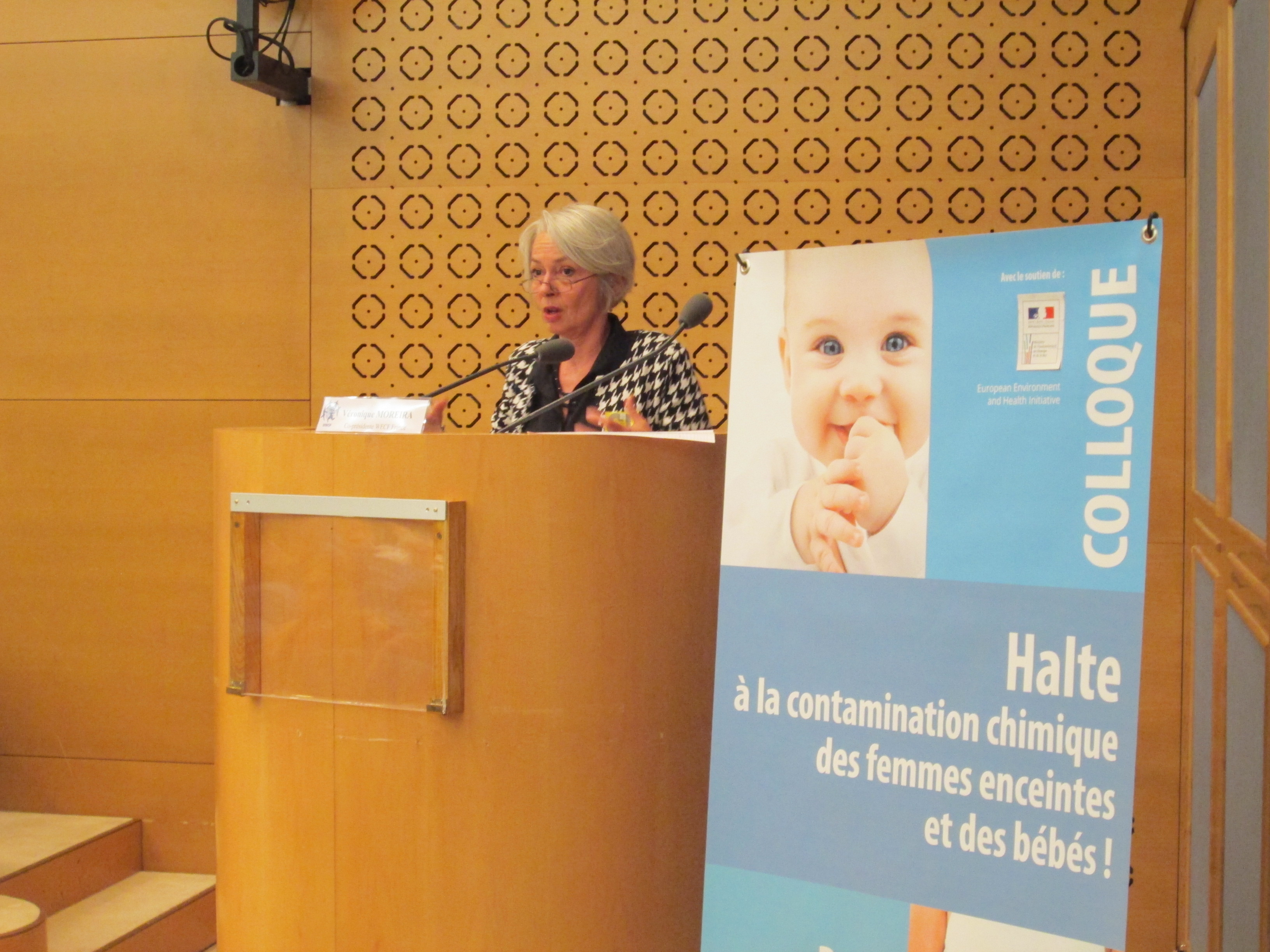 """9 juin 2016 – Colloque international organisé par WECF France : """"Halte à la contamination chimique des femmes enceintes et des bébés !"""""""