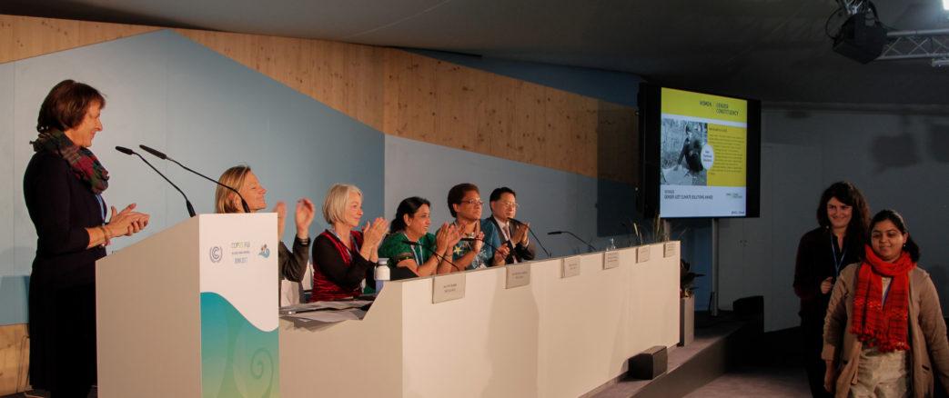 WECF est présente à la COP 23 à Bonn du 6 au 17 novembre 2017.