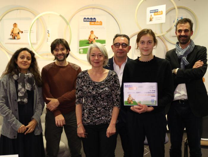 DESIGN-MOI UN JOUET: WECF France récompense des étudiants pour leurs projets de jouets éco-conçus et sans danger pour la santé