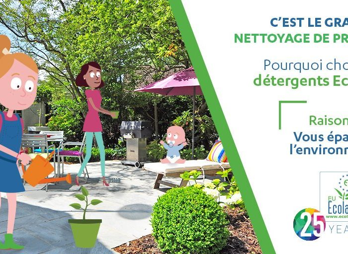 Ménage de printemps écologique : 5 bonnes raisons de choisir des produits ménagers avec l'écolabel européen