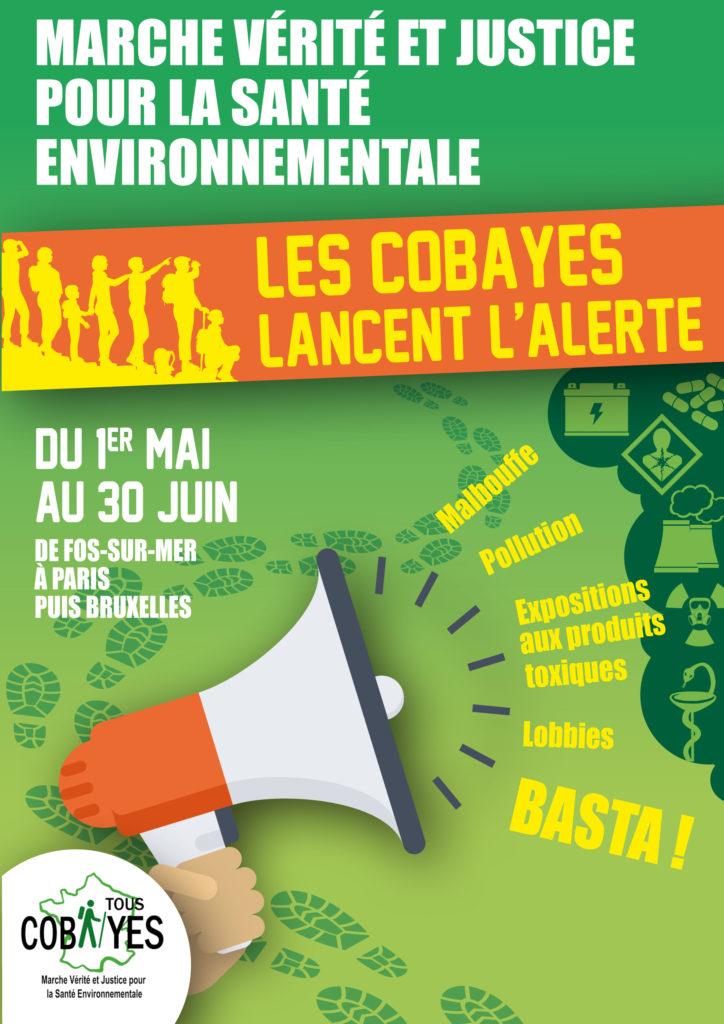 WECF France s'associe à la Marche des Cobayes – Vérité et Justice pour la Santé Environnementale