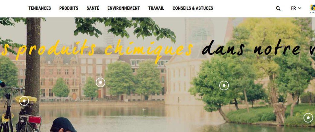 """L'ECHA lance un nouveau site """"Les produits chimiques dans notre vie"""""""