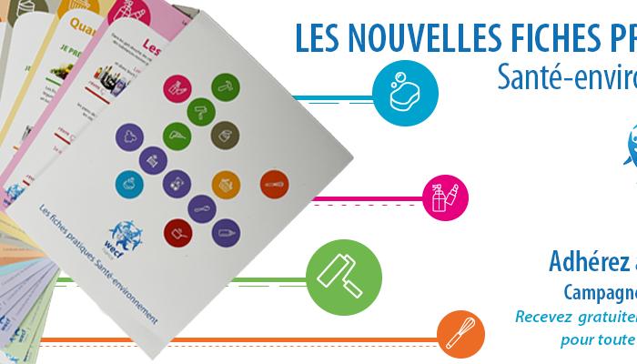 Communiqué de presse : WECF France lance ses fiches pratiques Santé-environnement.