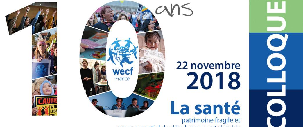 Participant booklet – Colloque des 10 ans de WECF France – 22 novembre 2018