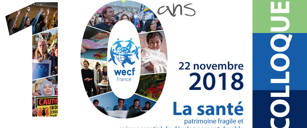WECF France fête ses 10 ans… Jeudi 22 novembre 2018