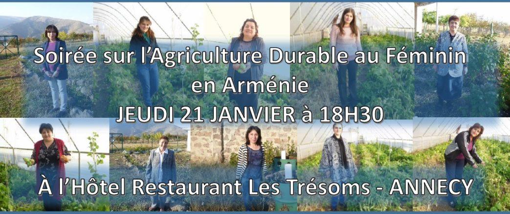 Soirée Agriculture Durable au féminin en France et en Arménie