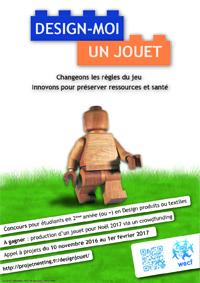 """Portrait de Juliette Bazin, auteure de l'affiche du concours """"Design-moi un jouet"""""""