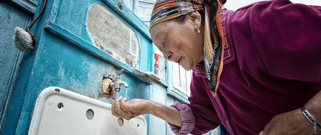 Accès à l'eau au Kirghizistan