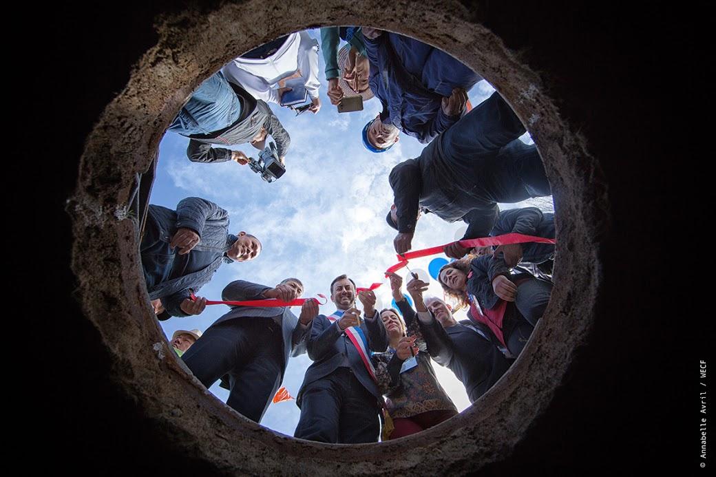 Inauguration du projet d'approvisionnement en eau d'An-Oston