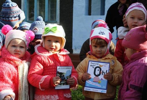 """Lancement du projet """"Eau saine et assainissement sûr pour l'école maternelle de Dominteni en Moldavie"""""""
