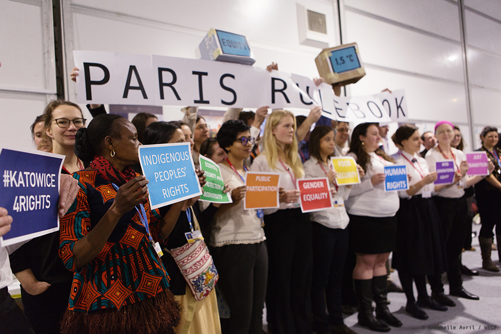 Les voix des peuples et les vraies solutions ont été rejetées pendant la COP 24, à Katowice
