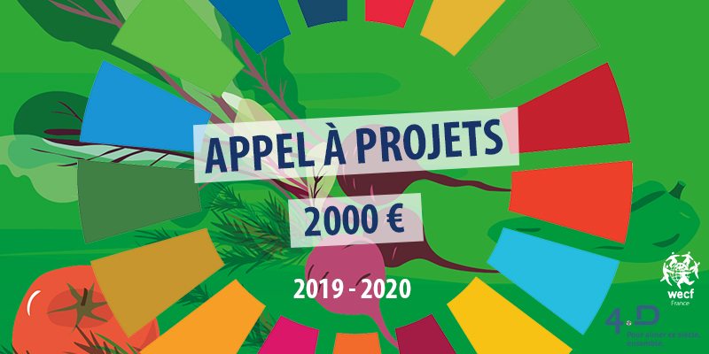 """Lancement de l'appel à projets """"Construire une Europe durable pour toutes et tous"""", candidatez pour 2000€"""
