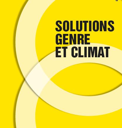 Solutions Genre et Climat – édition 2018