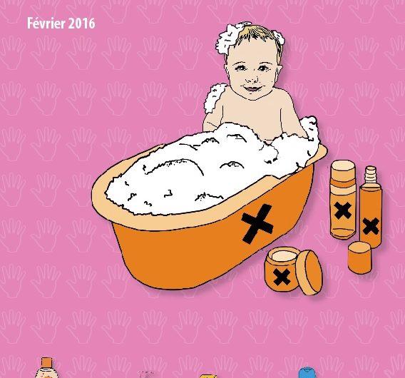 RAPPORT Cosmétiques pour bébés: encore trop de substances préoccupantes – 2016