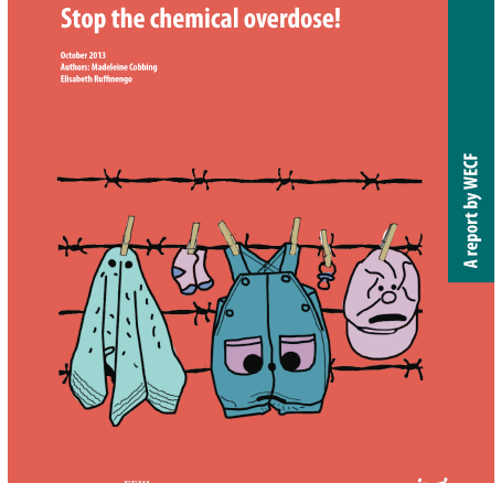 """Synthèse – Rapport """"Textiles : Stop the chemical overdose!"""" (FR) – Octobre 2014"""