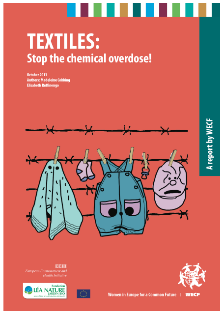 "Synthèse – Rapport ""Textiles : Stop the chemical overdose!"" (FR) – Octobre 2014"