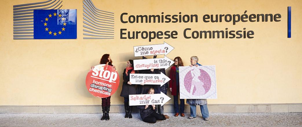 Perturbateurs endocriniens: WECF France et ses partenaires européens mobilisés auprès du ministre Nicolas Hulot