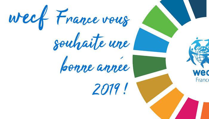 Les vœux de wecf France pour 2019
