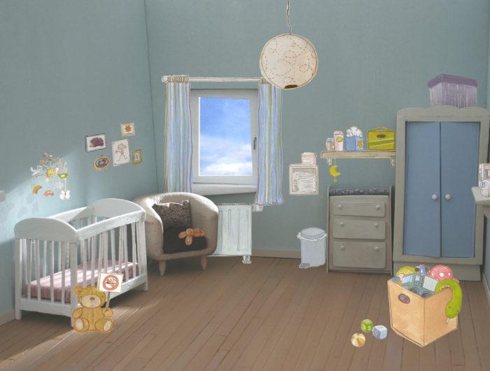 """Poster – """"Test your Nest"""" – Qualité de l'air intérieur dans les chambres d'enfant – 2010"""