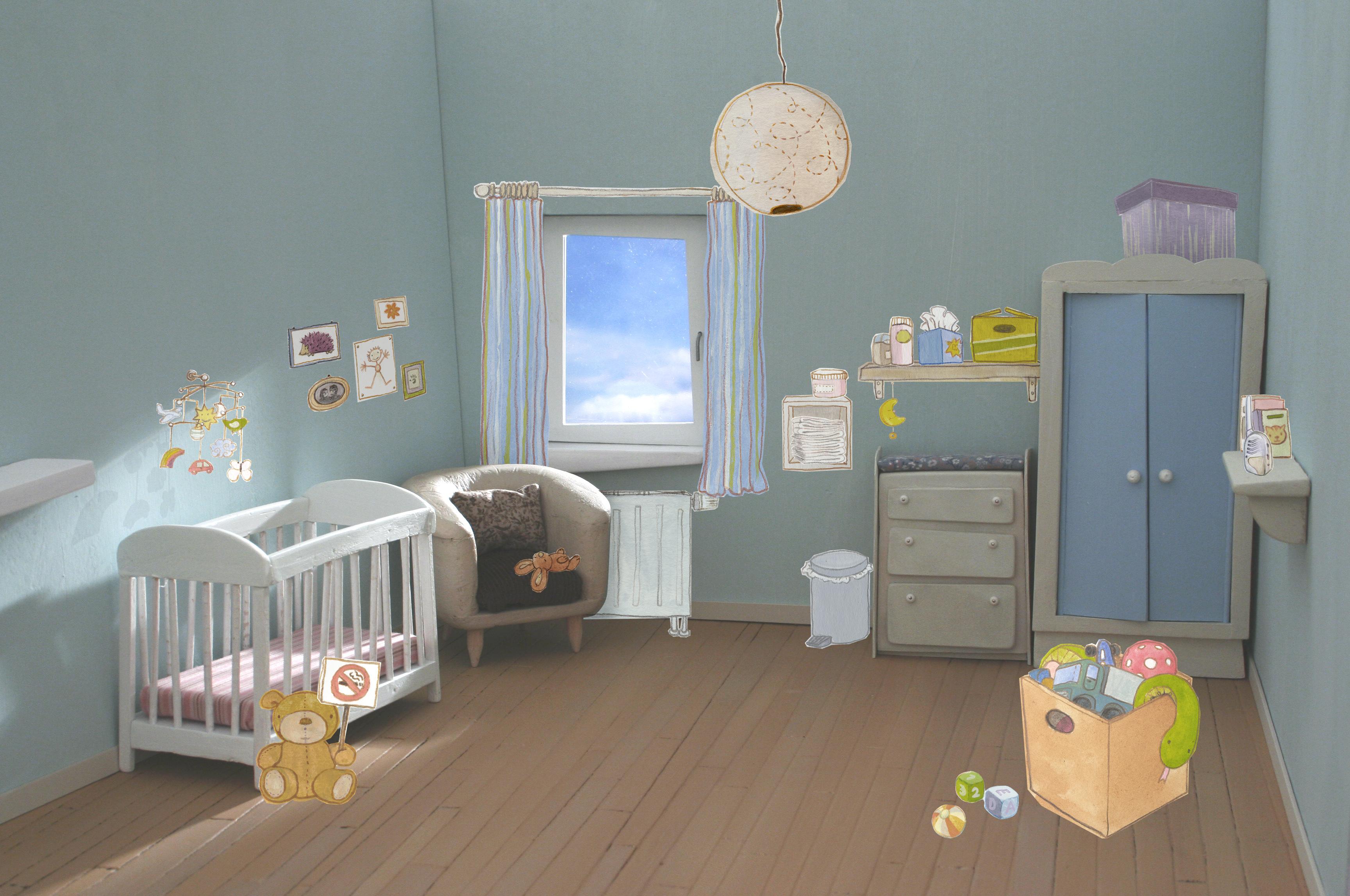 """Résultats de """"Test your Nest"""" – enquête européenne de WECF sur la qualité de l'air dans les chambres pour bébé"""