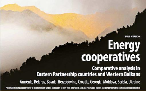 Analyse comparative – Coopératives d'énergie dans des pays de l'Est et des Balkans occidentaux – 2018