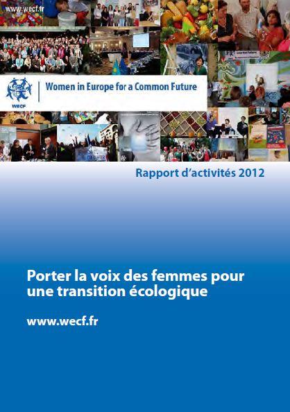 Rapport d'activité wecf France 2012