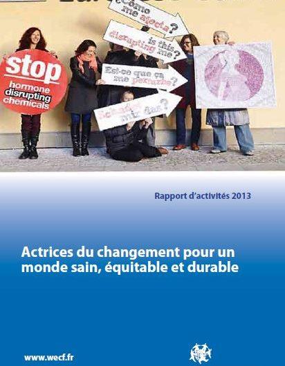 Rapport d'activité wecf France 2013