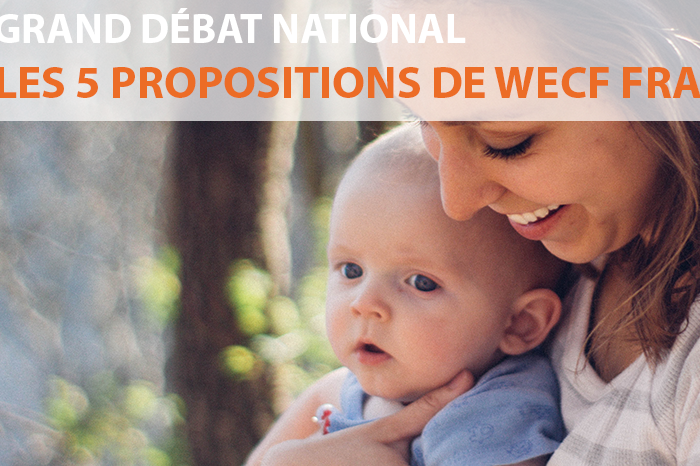 Grand débat : les 5 propositions de wecf France