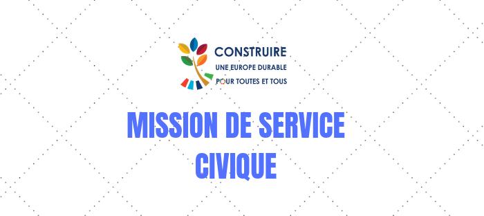 Offre de Service civique : Participation à un projet de sensibilisation aux ODD