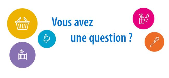 Visuel avez vous une question?