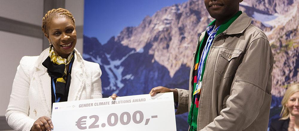 RECHERCHONS Solutions Genre et Climat ! Soumettez votre projet aujourd'hui et venez le présenter à la COP25 !