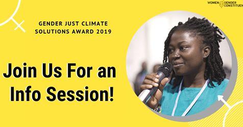 Prix Solutions Genre et Climat