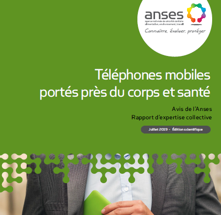 Téléphone mobile porté trop près du corps : l'Anses alerte