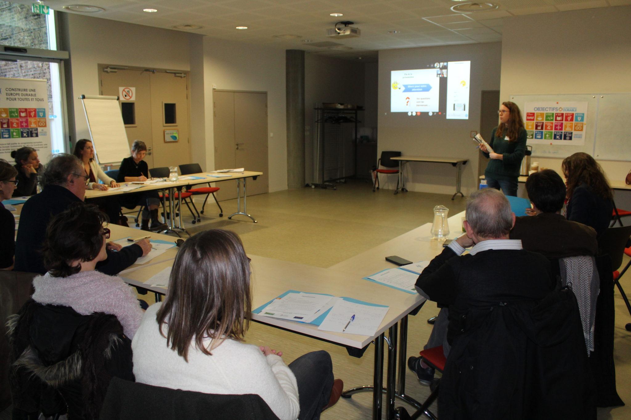 Réflexions et débats autour de l'alimentation et l'agriculture durables