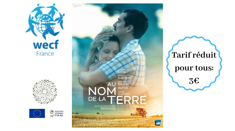 Projection-débat du film Au Nom de la Terre le 10 décembre à 20h30 au Ciné Actuel d'Annemasse