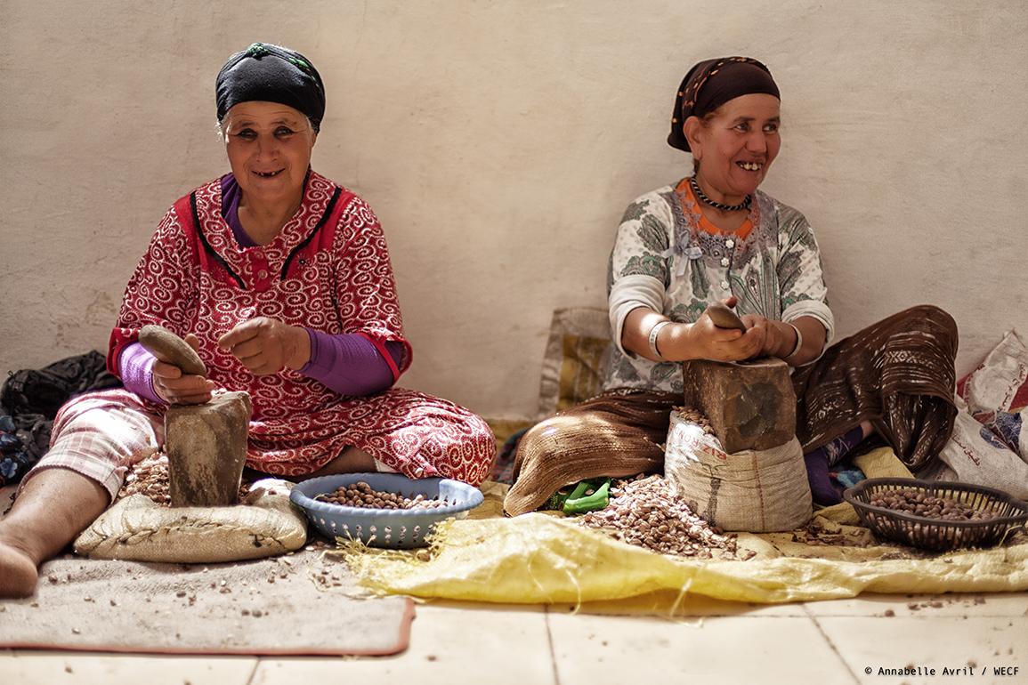 Femmes Argan Maroc Développement Climat ODD Genre