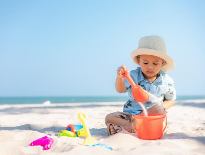 Produits solaires pour enfants : Trop de substances préoccupantes