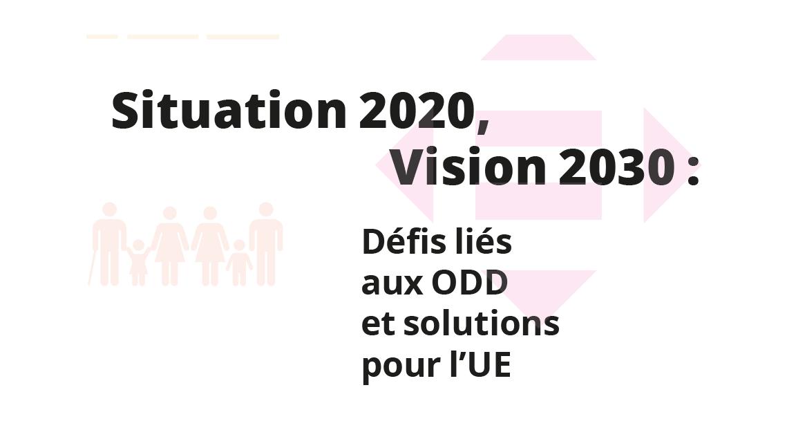 Statut 2020, Vision 2030: le rapport de suivi de la société civile européenne pour les ODD