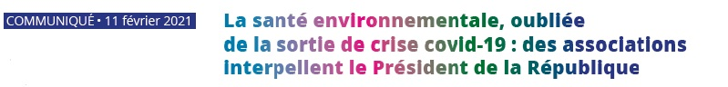 La santé environnementale, oubliée de la sortie de crise covid-19