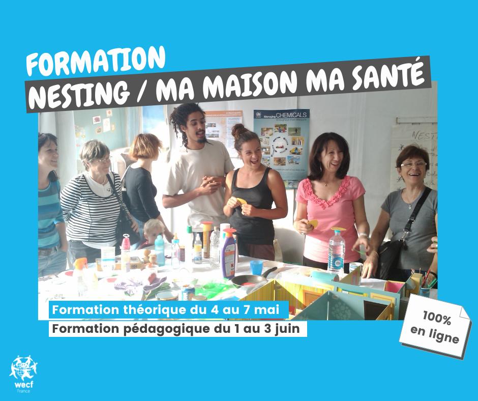 Participez à la formation en ligne Nesting / MA Maison MA Santé 2021 !