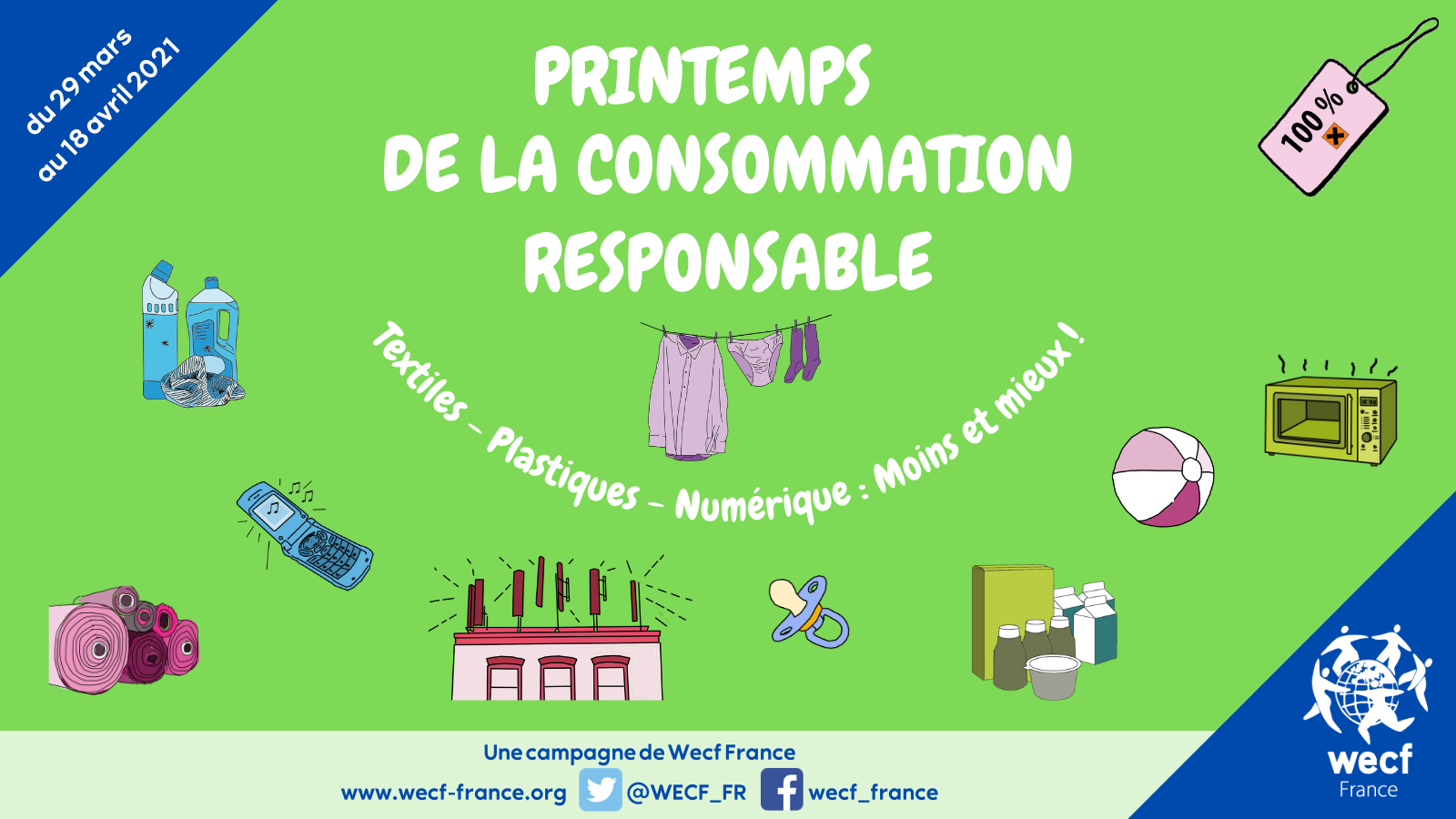 Printemps de la consommation responsable : moins et mieux !