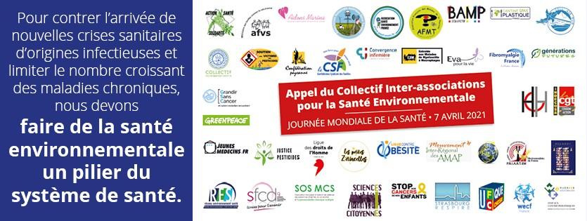 Journée mondiale de la Santé : Appel du Collectif Inter-associations pour la Santé Environnementale