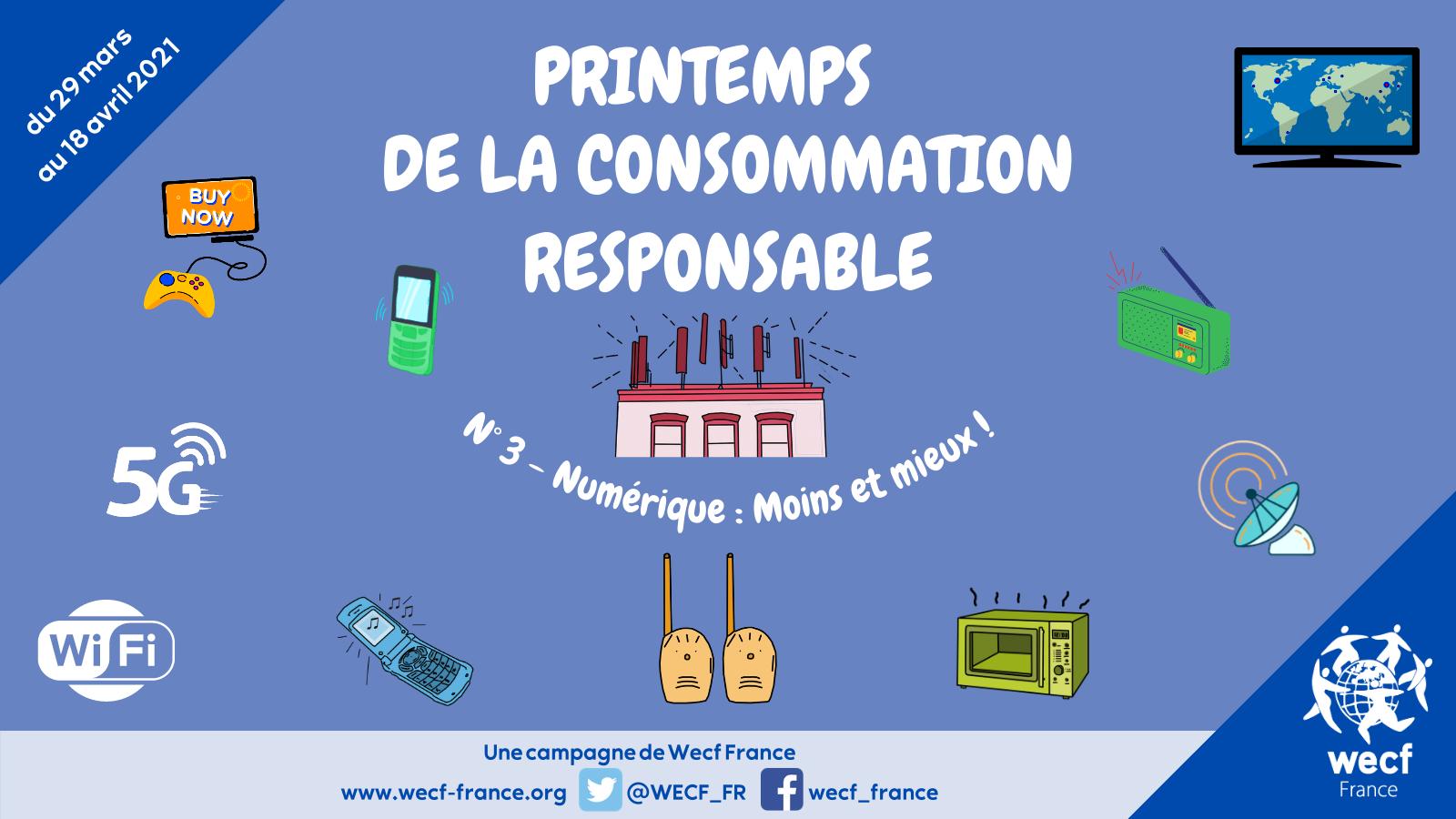 Printemps de la consommation responsable – N°3 : le numérique