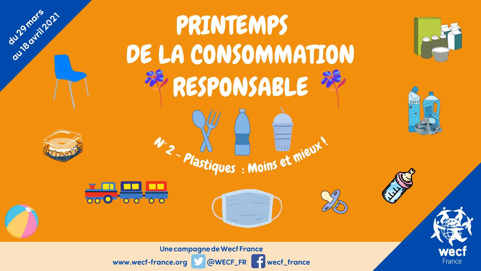 Printemps de la consommation responsable – N° 2 : les plastiques