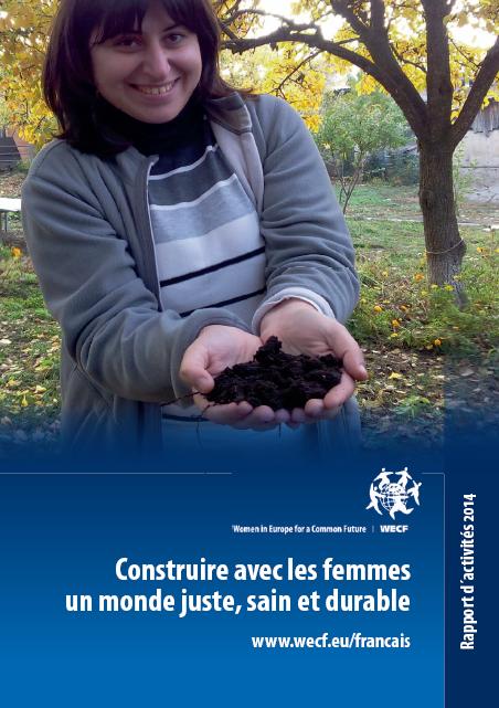 Rapport d'activité 2014_Wecf France_couverture